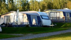 Nos locations d'emplacement de tentes pour des vacances à la ferme à Saint-Antonin-Noble-Val