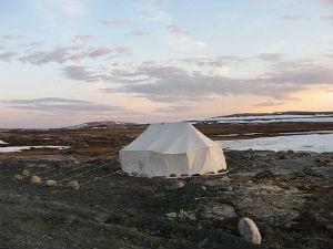 Nos nuits insolites dans une tente inuit à Montauban